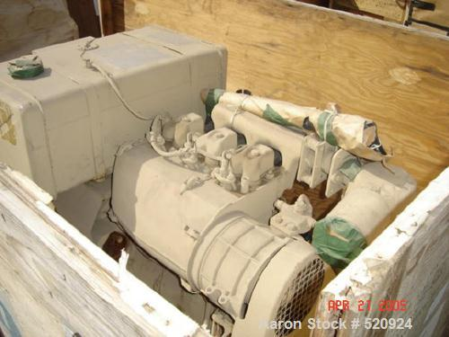 Used- Cosmodyne Reverse Osmosis Water Purification Unit, skid mounted, desalination sytem. Produces 150,000 gallons drinking...