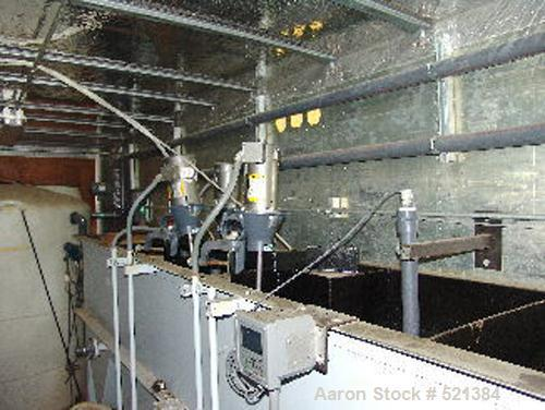 USED: Self-contained trailer mounted heavy metals water treatmentsystem built by CSK. Components include T100 influent tank,...