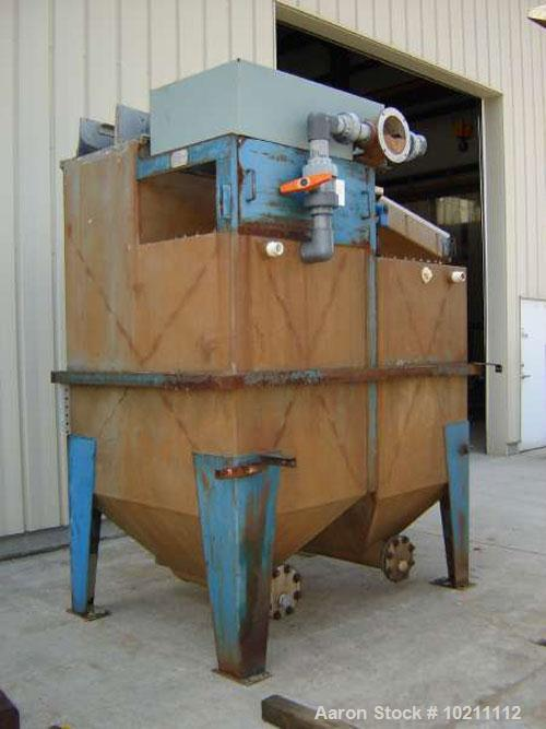 "Used-24"" X 36"" Denver Duplex Mineral Jig, Model 562654. Manufactured by Dener Equipment Company, Colorado Springs CO. Stainl..."