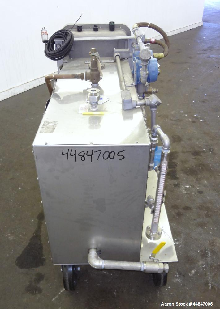 Used- Electro-Steam LB Series Steam Generator, Model LB-40, 316L Stainless Steel.  Approximately 40 kw, 4.0 boiler hp, 138 p...