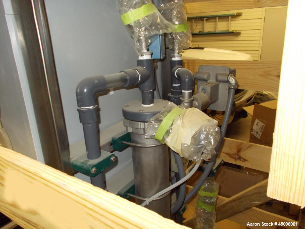 Used-Fluid Dynamics Polymer Mixing System, Model L4S-300-4.7PS-15-3