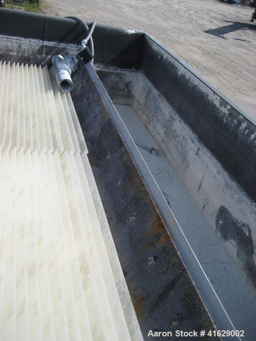 Used- Great Lakes Slant Plate Clarifier, carbon steel. Includes chemical feed system, flash mix tank, floculation tank, and ...