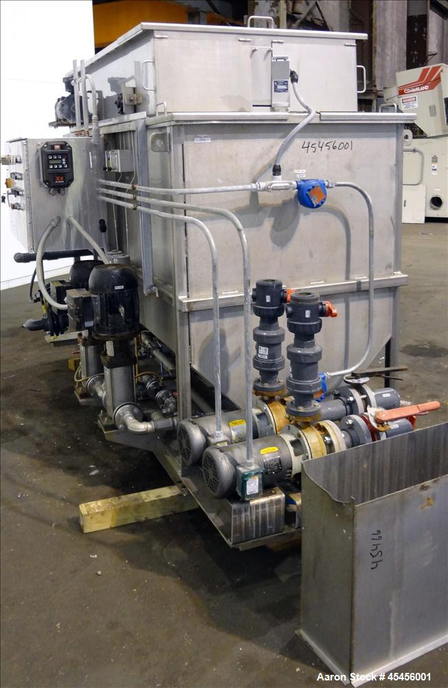 Used- Hydroxl Systems Dissolved Air Flotation System, Model HSI-70