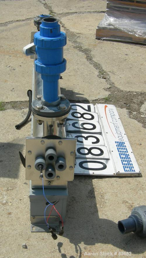 """Used- Ideal Horizons Ultraviolet Sterilizer, Model CI-4L. 316 stainless steel housing. Rated 150 psi at 100 deg F. 2"""" inlet/..."""