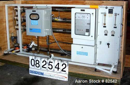 USED: Ion Pure 6.5 gallons per minute reverse osmosis system consisting of (1) Ion Pure Series 2000 reverse osmosis unit, (3...