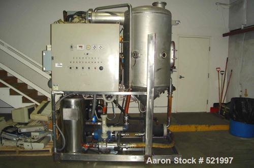 Used- LED Italia Still, Model FTS-1000. Built 1993. Capacity rated for 1000 gallons/24 hour shift. Unit has 9,258 hours. 3/6...