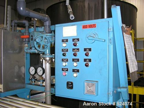 """Used- Koch UltraFilter Oil Separator. Less than 28,000 hours. """"Ultrafiltration"""" (UF) is a low pressure (5 - 150 psig) proces..."""