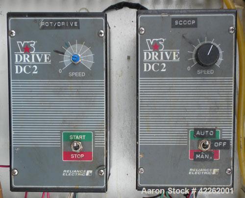 Used- Krofta Supracell Dissolved Air Flotation Clarifier, model SPC-8, 304 stainless steel. 96'' Diameter x 23'' deep tank. ...