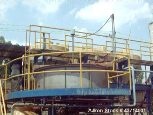"Used- Krofta Supracell Dissolved Air Flotation Clarifier, Model SPC-8.304 Stainless Steel.96"" diameter x 23"" deep tank.Maxim..."