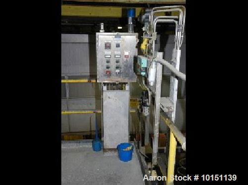 Used-Krofta Clarifier, Model SPC27, 304 stainless steel construction.Designed flow rate 1695 gallons per minute.Includes an ...