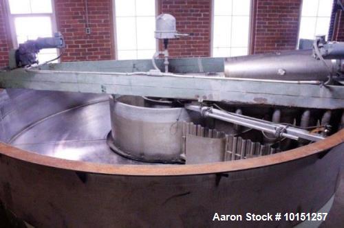 Used- 12' Diameter Krofta SP12 Stainless Steel Clarifier.