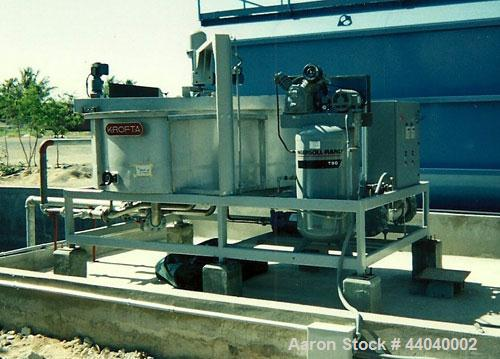 Used-Krofta Supracell, DAF Unit. Air dissolving tube model ADT300, 304 stainless steel and carbon steel. Flow rate 37 gpm. Y...