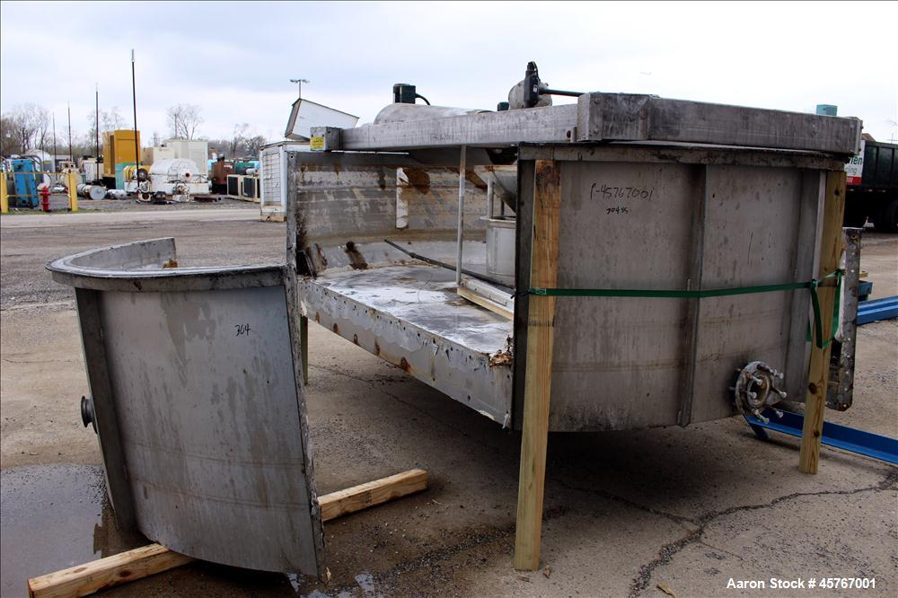 Used- Krofta Supracell Wastewater Flotation Clarifier -DAF, Stainless Steel.