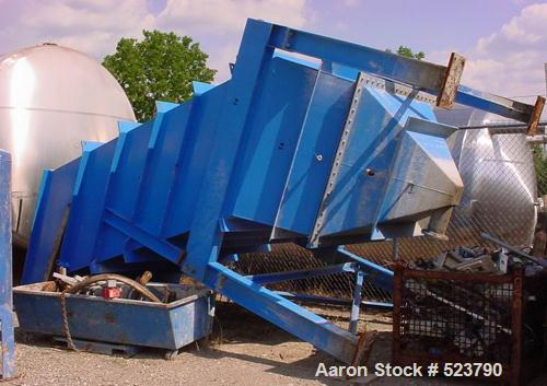 USED: Lamella gravity settler, 360 square feet, manufactured byParkson Corp, model LGS-360/55. Lamella has 360 square feet o...