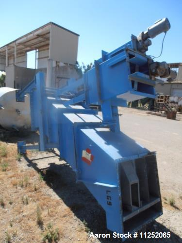 Used- Lamella Thickener/Gravity Settler. Appears to be LGST model 125/55. Unit consists of (13) stainless steel plates, meas...