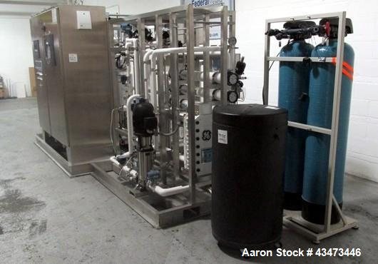 Used- Marcor Hot Water Sanitation System, Type USPure 6H. Rated 6 gallons per minute, 14 gallons per minute maximum feed flo...