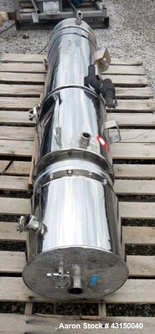 Used- MECO Pure Steam Generator, Model CS1500. Rated 1500#/hour steam capacity, single heat exchanger rated 125 psi at 350 f...
