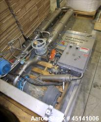 Used-Stainless Steel WHE Performance Speration Systems filter