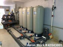 Reverse Osmosis System. Twin system that can produce 180,000 GPD, 125 GPM total from brackish water...