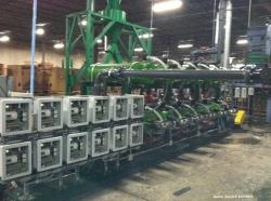 Used- John Deere Green Tech Process Filtration Skid Assembly Variable Filtration