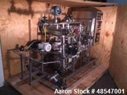 Used- Millipore 29751 Tangential Flow Filtration (TFF) System. Consisting Of: (1) Precision stainless reactor, model EO1350,...