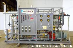 Used- Osmonics Reverse Osmosis System, Model 74B-HR106KY/DLX-DP
