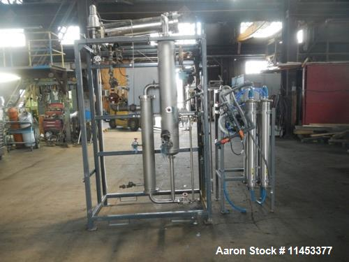 Used- Mueller Pyro Pure WFI Still, Model SES, Stainless Steel Construction. Single effect with Osmonics RO system, model E4-...