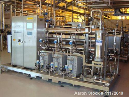 Used- Elga Filtration System, Type Vivendi Orion 7000, consisting of: (3) 108 litre membranes rated 25 bar/full vacuum desig...
