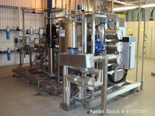 Used- Elga Filtration System, Type Vivendi Orion 7000, cnsisting of: (3) 108 litre membranes rated 25 bar/full vacuum design...