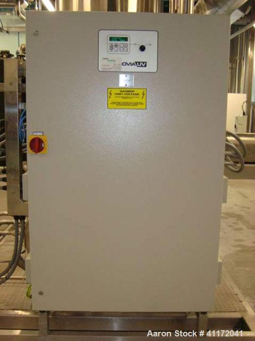 Used- Vivendi Purified Water Softener Skids consisting of: (1) Forbes approximately 10,000 litre HDPE tank, (2) Grunfoss typ...