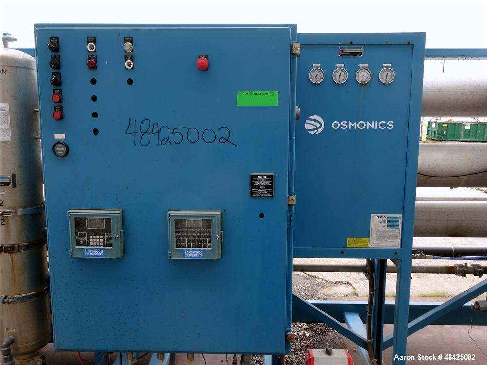 Used- Osmonics OSMO Reverse Osmosis System, Model 54A-HR (PA) 173E-DLX.