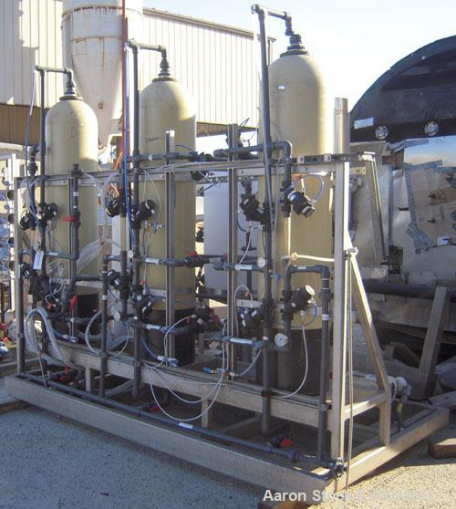 Used- Osmonics Reverse Osmosis System, Model 54A-HR(PA)10K-DLX