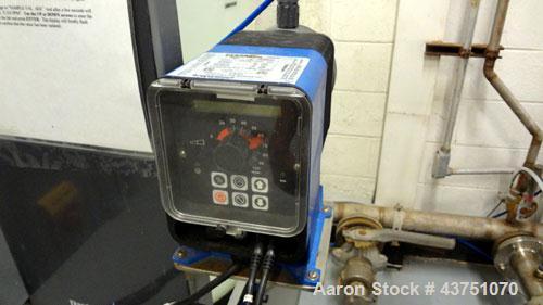Used- Osmonics 40 Gallon Per Minute Osmo Reverse Osmosis System consisting of: (1) Osmonics reverse osmosis system, model E8...