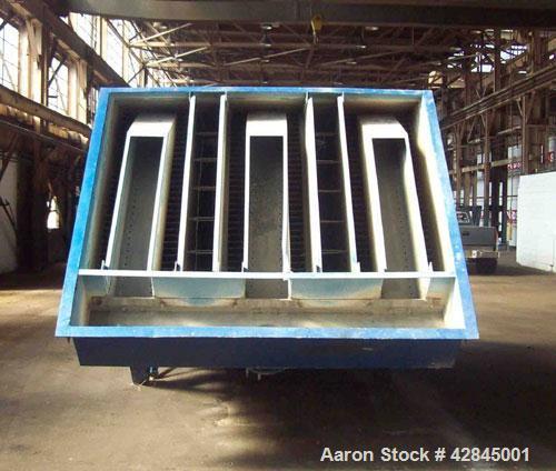 "Used-Parkson Lamella Clarifier, Model 1135/55.  500 gpm, 192"" long x 108"" wide x 216"" high. Includes floc tank."