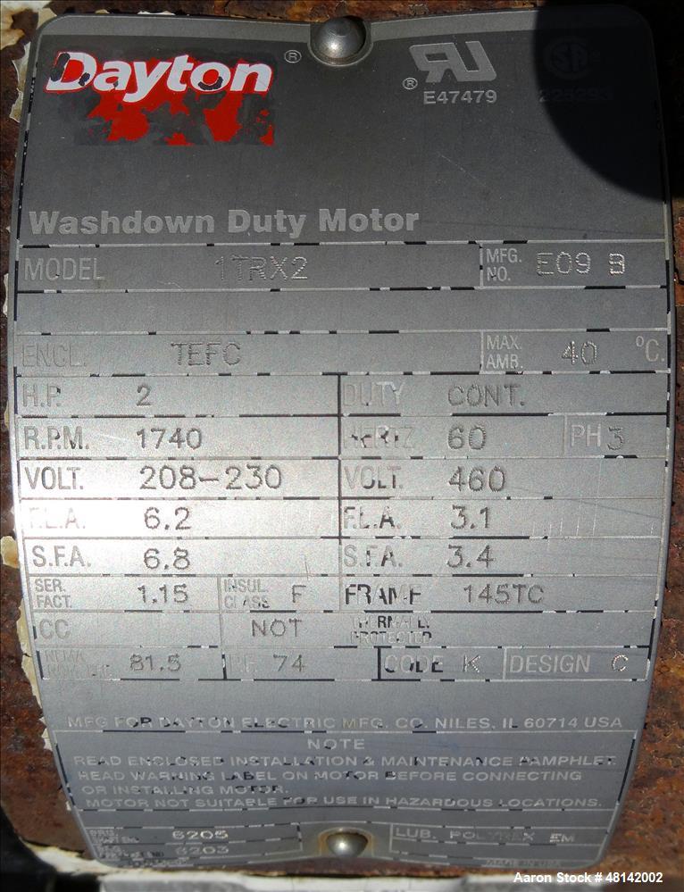 Used- Parkson Lamella Gravity Settler, Model 570/55, Carbon Steel.