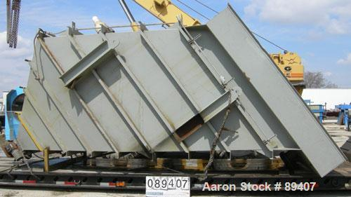 Used- Parkson Corp Lamella Gravity Settler, carbon steel. Approximate 11' wide x 11' long top opening. Designed as a modular...