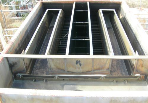 USED: Parkson Lamella clarifier, stainless steel construction.