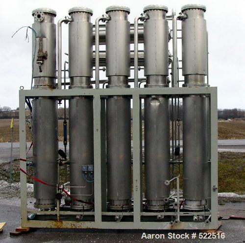 USED: Stilmas WFI water purification system consisting of thefollowing equipment: (1) 1000 liter single wall stainless tank ...