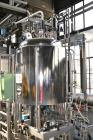 Used- Millipore Ultra Filtration System, Type MSP 006165, Consisting Of: (1) Mavag Reactor, 200 Liter (52.85 Gallon), 316L s...