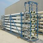 Used- Glegg Water Conditioning Inc Reverse Osmosis Filter System. Product flow rate/bank 171 gpm (normal), 200 gpm (peak). W...