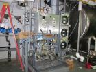 Used- Osmonics Water Treatment System, model RO,OSMO-PHARM-RO/EDI-15-HW consisting of RO skid with two RO membrane tubes, Aq...