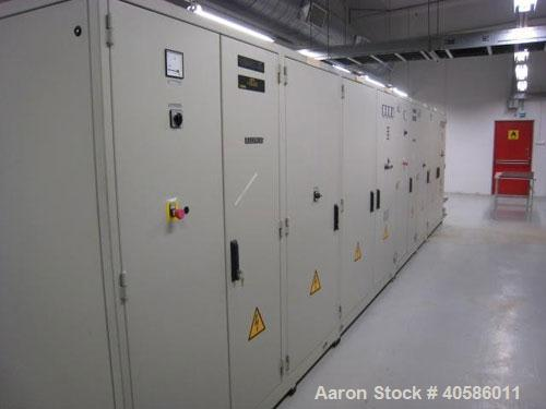 Used-WEDECO Ozone Generator, Model 1495/4659/1270.  1670 mm, capacity 420 kg O3/h, power supply GEA Elkomat 39/1350/0.5/n-MO...