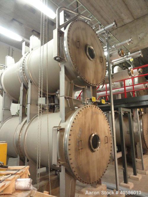 Used-WEDECO Ozone Generator, Model 1495/4659/1270.  1670 mm, capacity 420 kg O3/h, power supply GEA Elkomat 39/1350/0.5/n-MO...