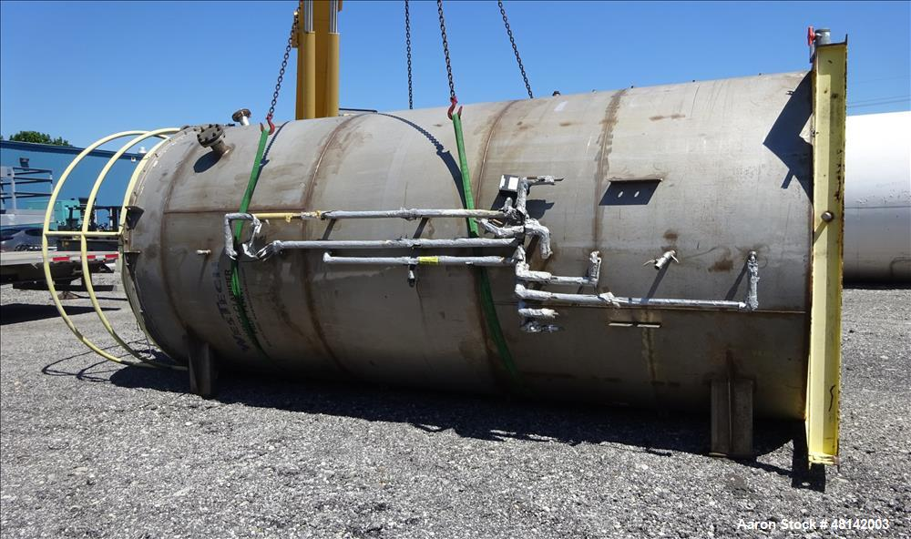 Used- Westech Solids Contact Clarifier, Size 8' x 20', Stainless Steel.