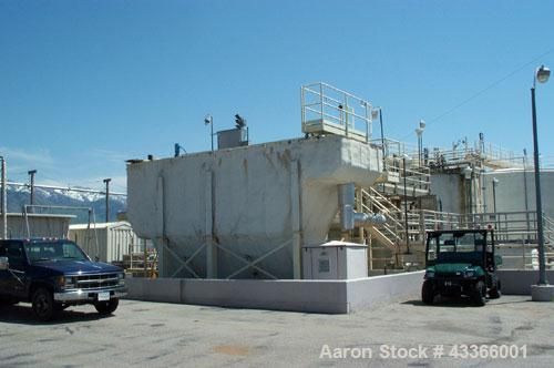 Used-Westech Plate Clarifier.  Carbon steel construction, insulated, rated for approximately 600 gallons per minute.  Missin...