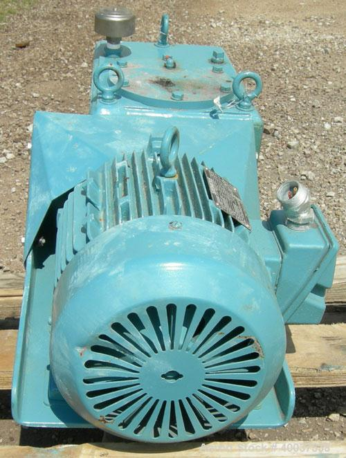 Used- Chemineer Agitator, Model 1HTD-2, 68 output rpm. Driven by a 2HP,3/60/220-230/ 440-460 volt, 1140 rpm motor.