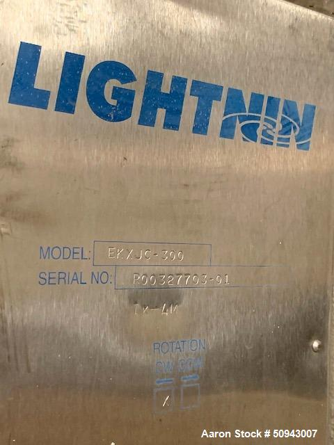 Used- Lightnin Agitator Drive, Model EKXJC-300