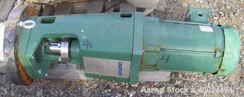 Unused- Lightnin Agitator, Model XJSS350. Flange mount, mechanical seal design. Driven by a 3 1/2hp, 3/60/230/460 volt, 1750...