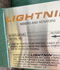 Unused- Lightnin Agitator, Model XJ-30. Approximate 5/8