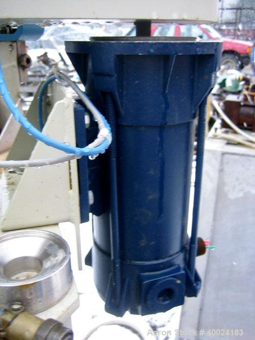 """Used- Autoclave Engineers Approximately 1 Gallon Autoclave, Hastelloy Construction. 8"""" diameter x 6"""" deep. Bolted top head, ..."""
